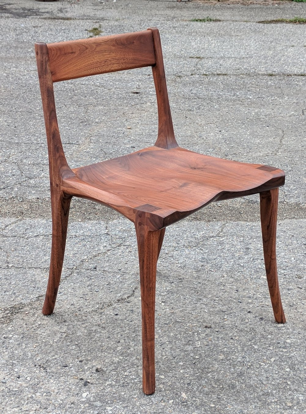 Walnut Desk Chair