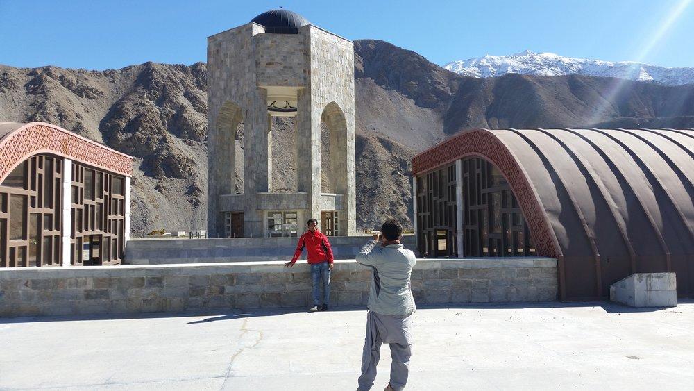 The mausoleum of Ahmad Shah Massoud