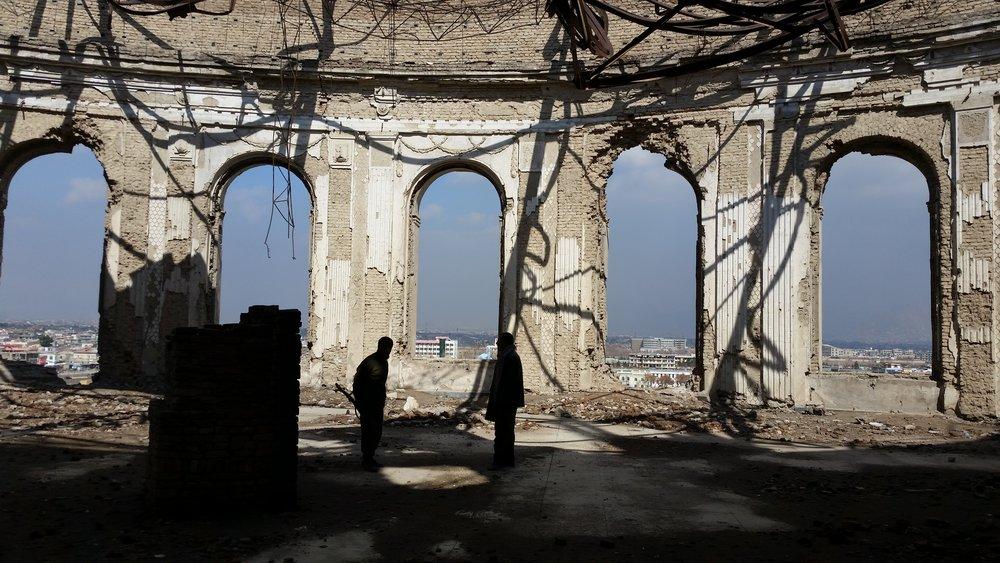 Inside Darul Aman Palace (Kabul)