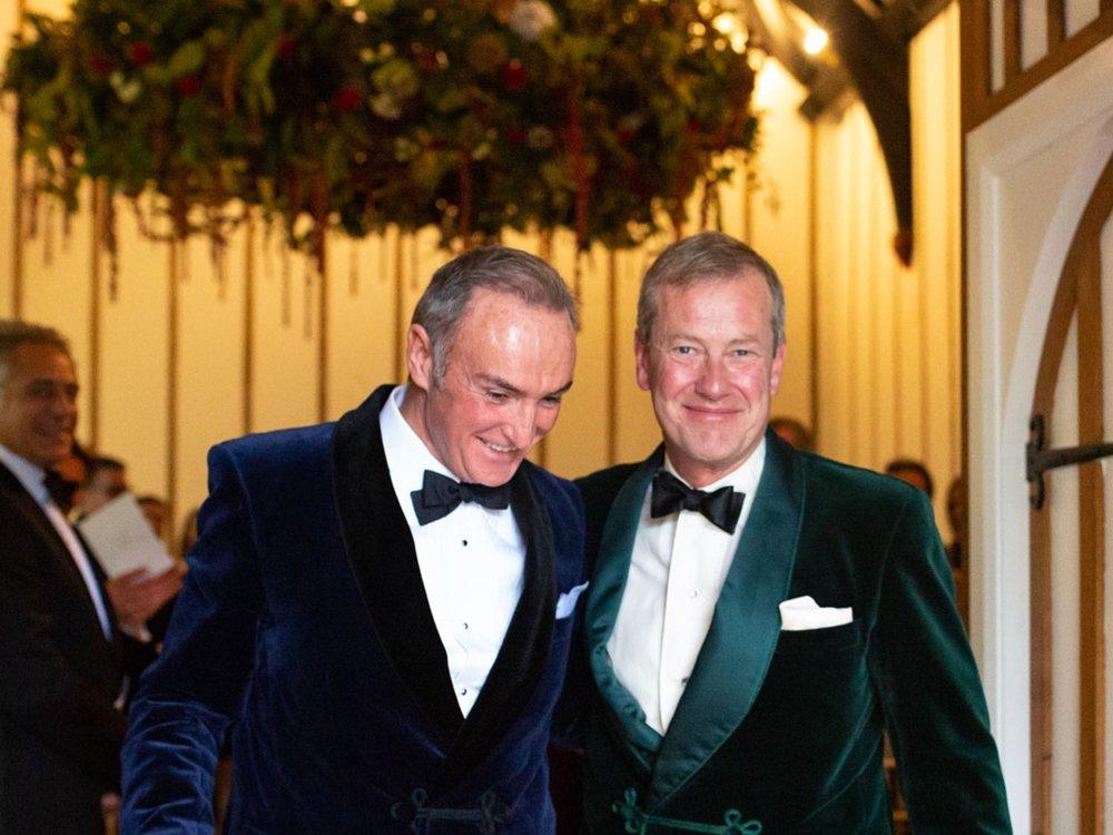 Wedding of Lord Ivar Mountbatten & James Coyle - Devon