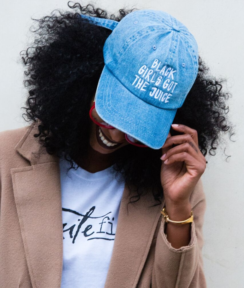 We love - The Juice Denim Hat by The Write Fit
