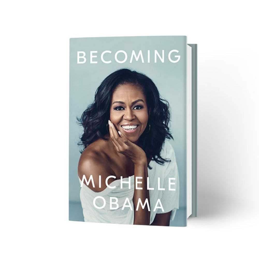 "We love - ""Becoming"" by Michelle Obama."