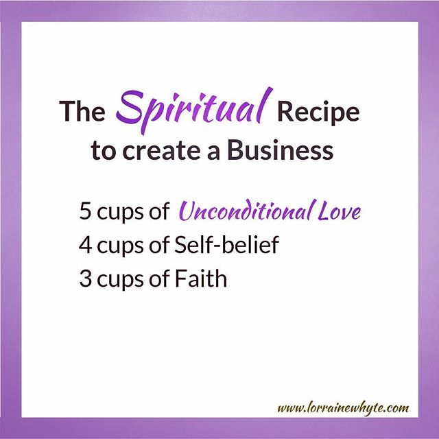 Our spiritual mindset is key to our success in creating a business. This recipe concept came to me whilst I have been working on a project for my business these last couple of weeks. I am really enjoying it, because it feels like I am opening my heart, and pouring out the love into this project. I love to love lol!  It made me remember that it's actually LOVE that creates. Yes our thoughts create our reality, but for that reality to be positive, it has to come from our hearts.  Then comes the self- belief that our idea can work, and then the faith that gives the idea wings. Once this spiritual mindset is in place, we can take positive action 💜. #innerwisdom #purposedriven #purposedrivenlife #purposedrivenwoman #motivation #coach #lifecoach #womenempoweringwomen #singlemumsrock #mompreneur #spirituality #unconditionallove