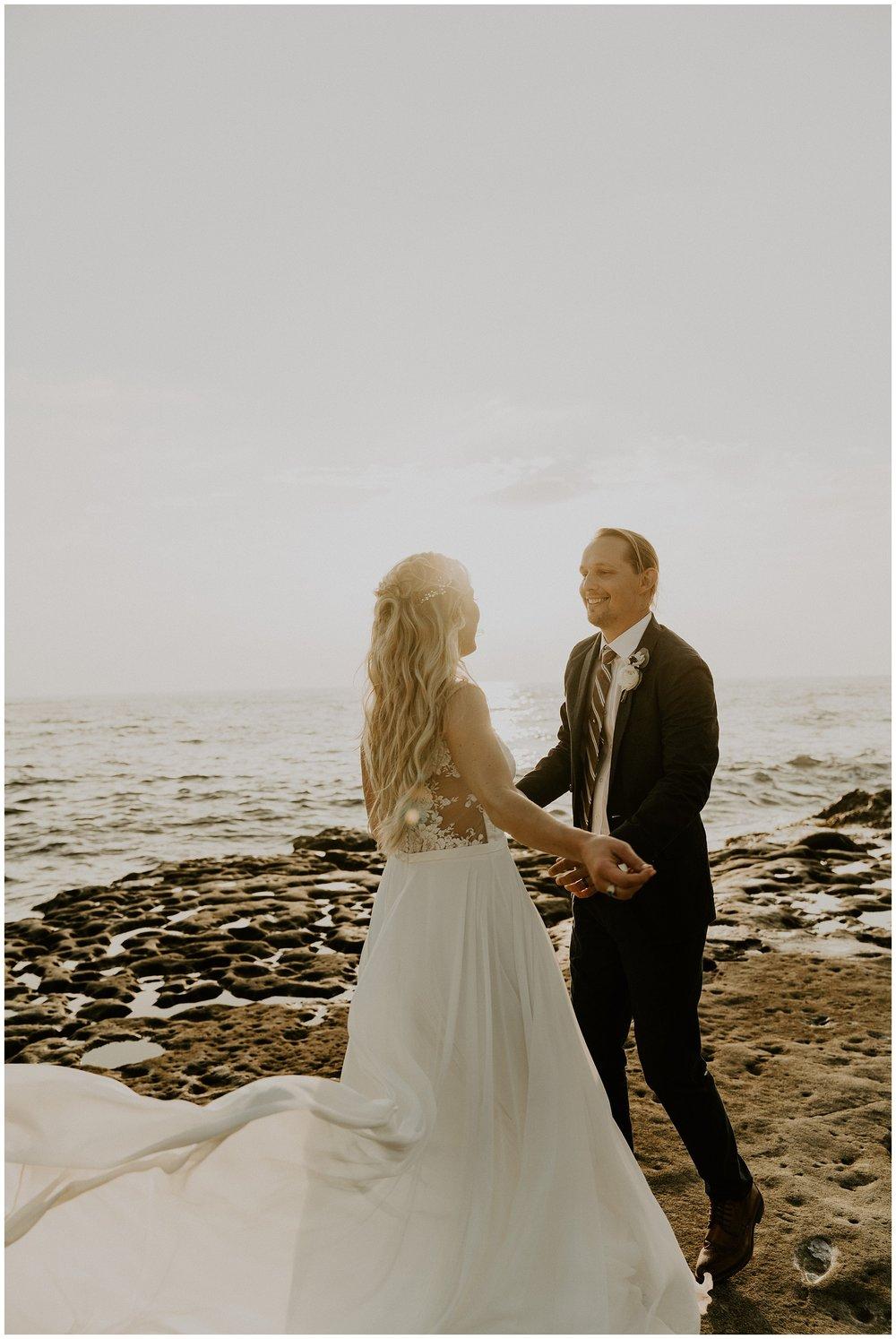 kauai beach elopement