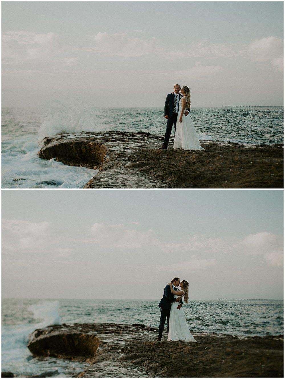 shipwreck beach elopement