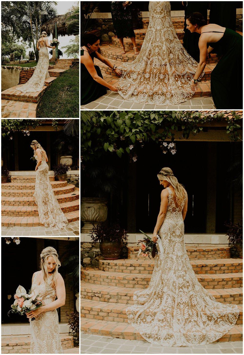 bride at amor boutique hotel in Sayulita