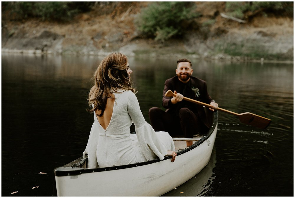 Leonard Lake reserve wedding
