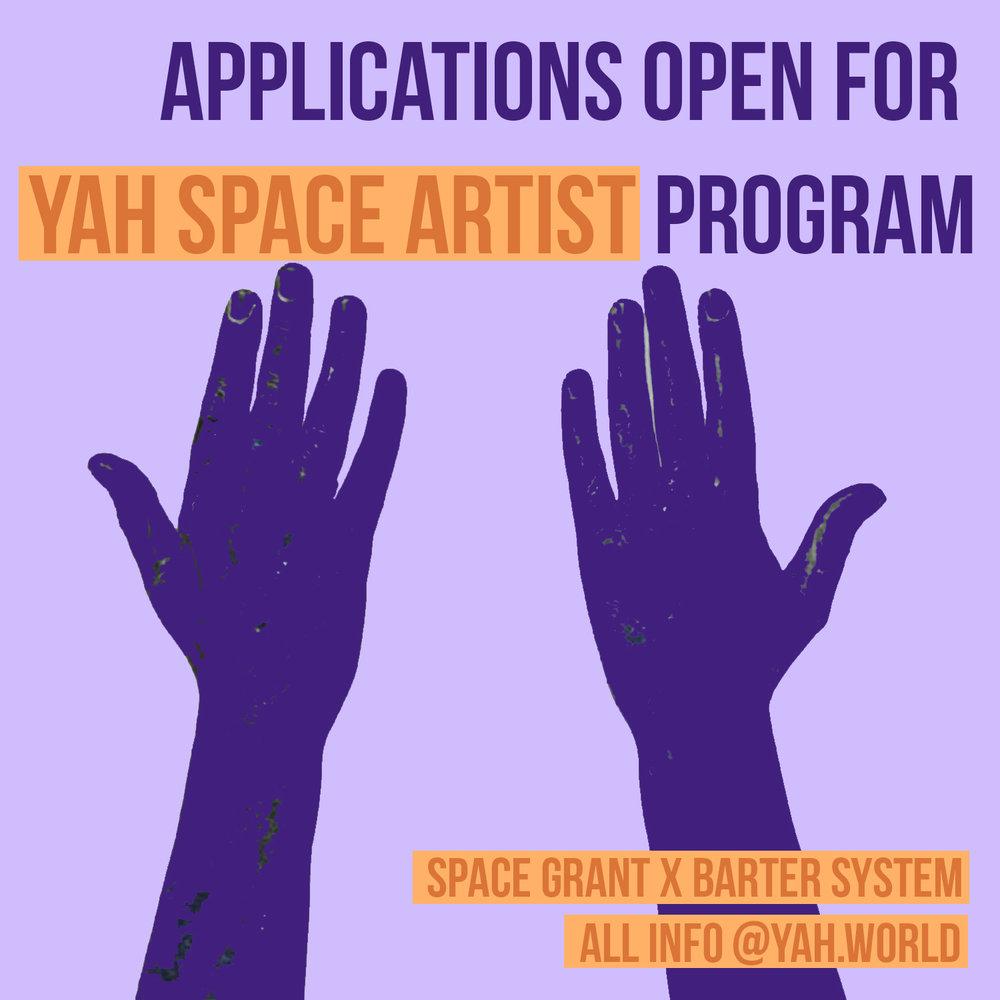 YAH Space Artist Program - 2019