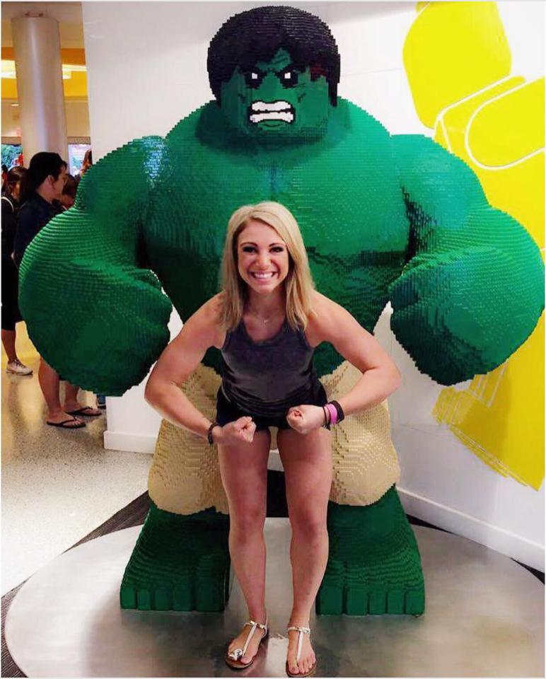 Mandy Gill Lego Hulk