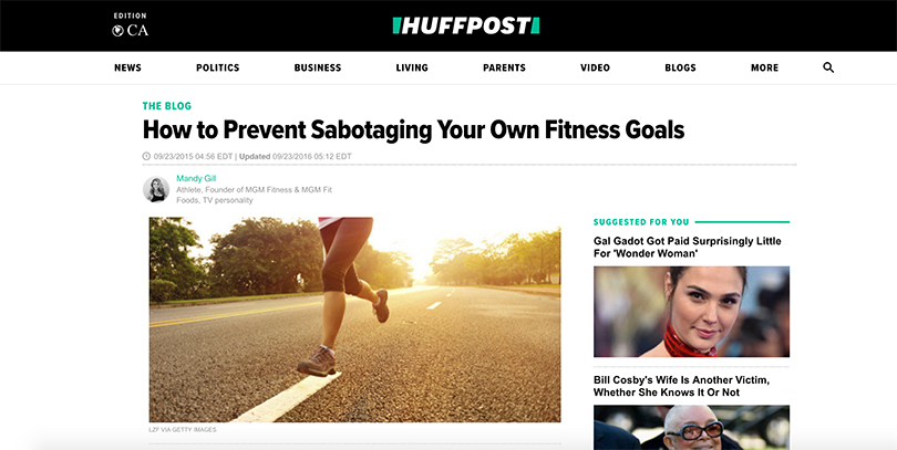 How to prevent Sabotaging Your Own Fitness Goals