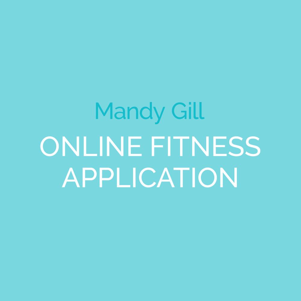 Mandy Gill's Online Fitness App