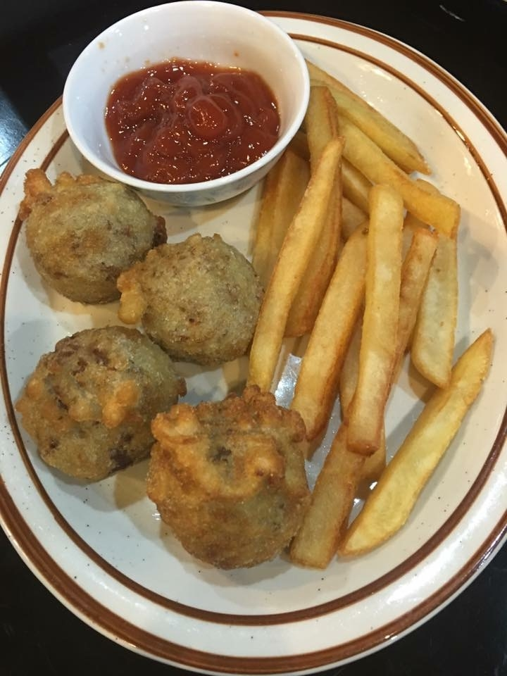 Meatballs & Fried 4 Kids