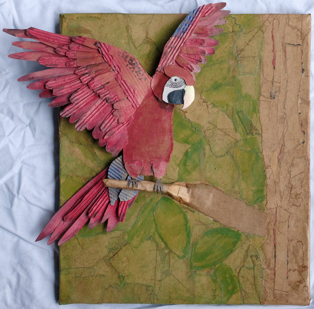 Recycled Parrot