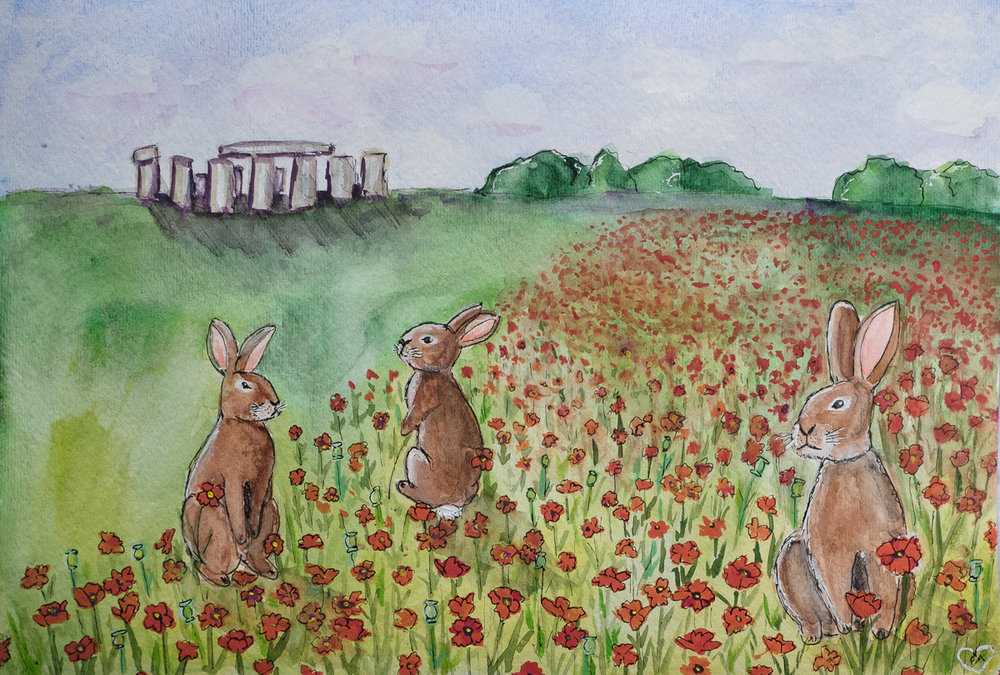 Hares of Stonehenge