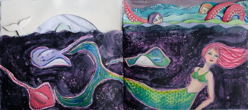 Mermaid and Rays