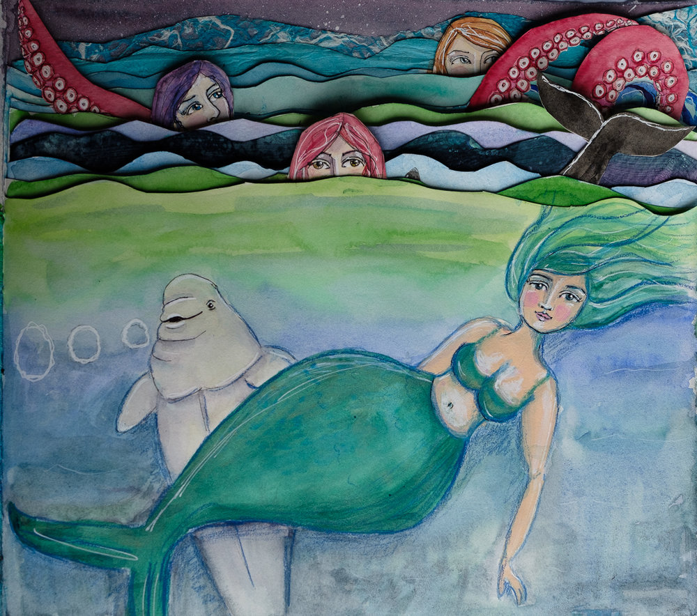 Shapely Mermaid