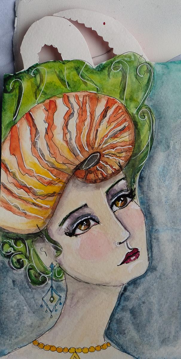 Nautilus Hat Mermaid