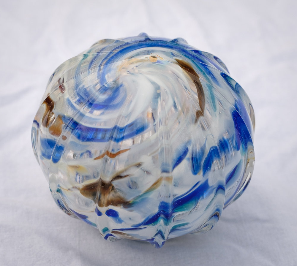Earth Swirl Float