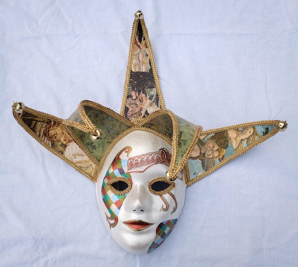 Venice Jester Mask