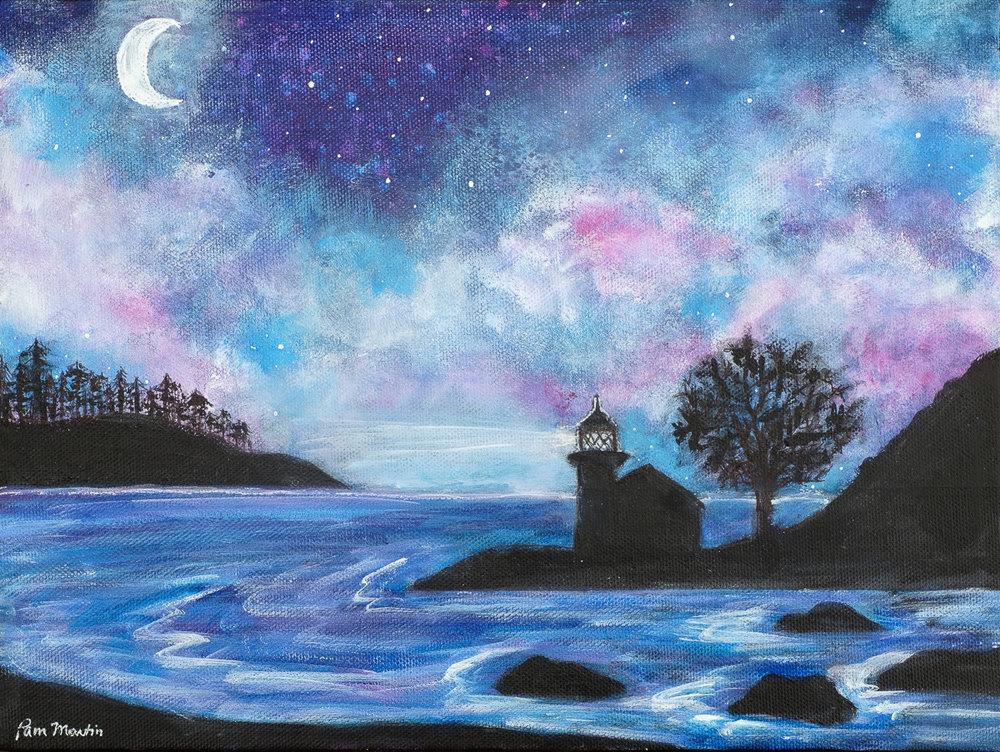 Twilight at Lime Kiln