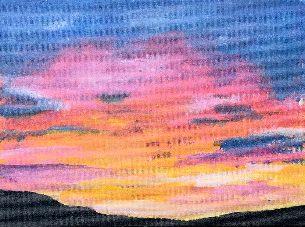 Rosey Sunset