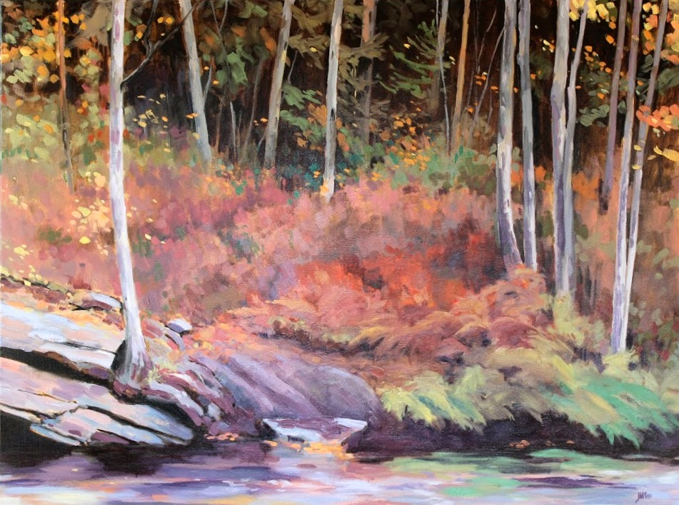 October Portage, Algonquin    SOLD
