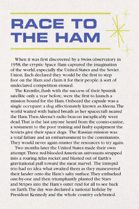 Mysteries of the Space Ham