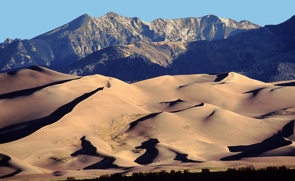 The Great Sand Dunes of Colorado