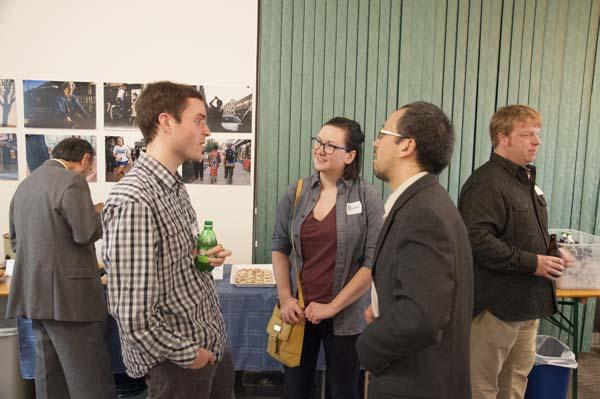Jeff Engel, Alison Bauter, Greg Huang