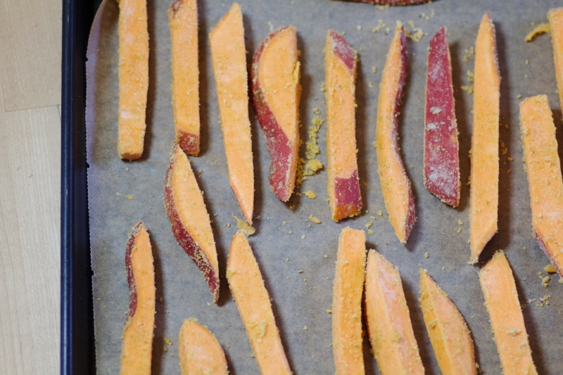 Sliced Sweet Potato Fries