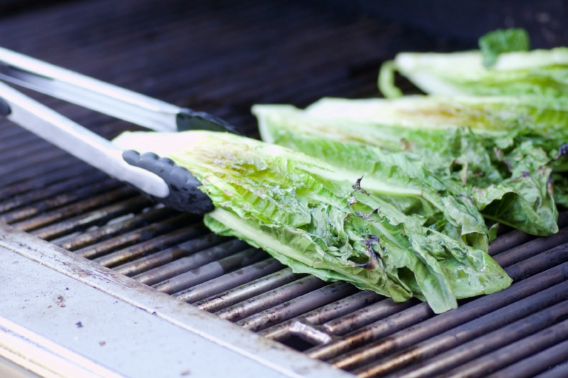 romaine-on-grill