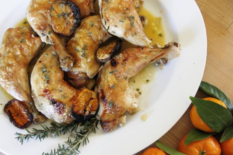 tangering-chicken-above