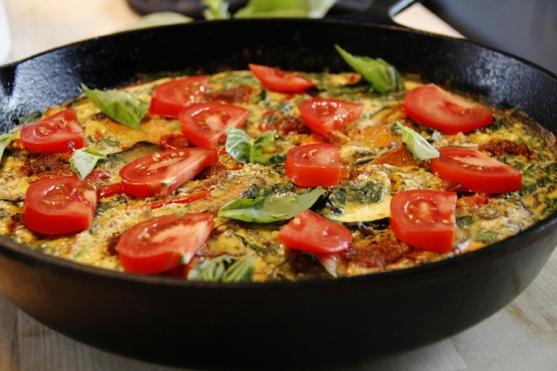 cast-iron-frittata
