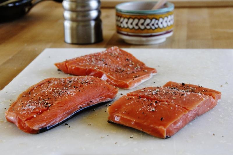 salmon-prepare