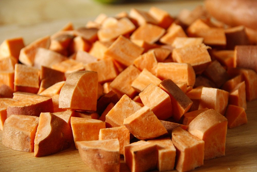 cubed-sweet-potato