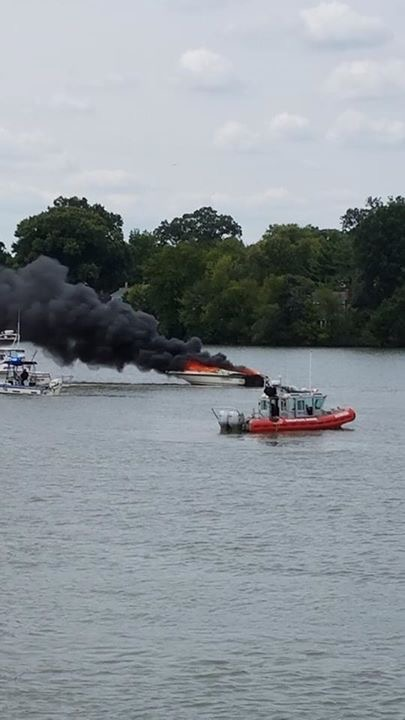 Baltimore Yacht Club Fire