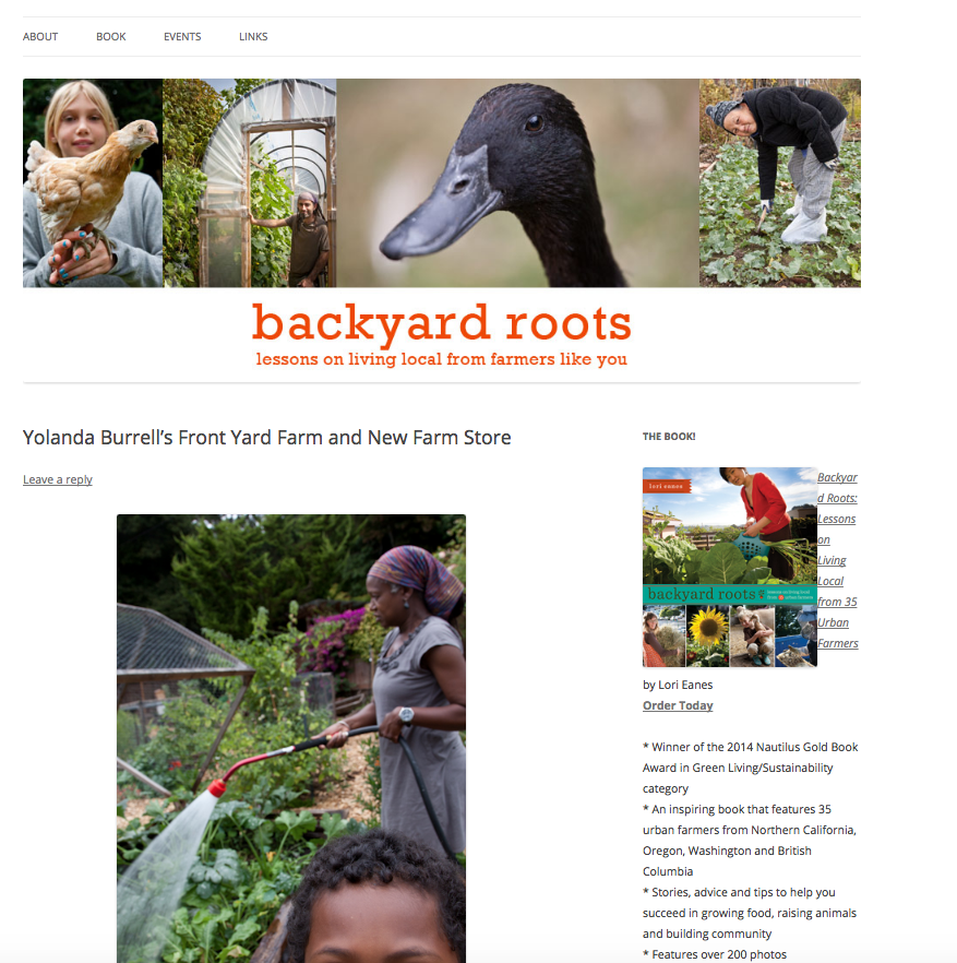 BACKYARD ROOTS BLOG