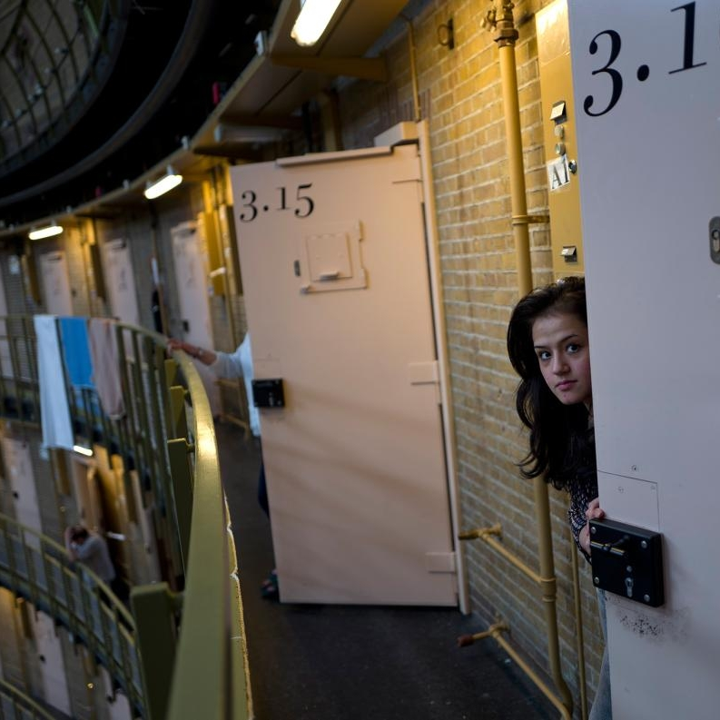 In the Netherlands, Empty Prisons Become Homes for Refugees   As prisons close across the country, the government uses the space to house refugees.