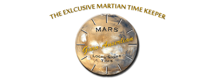 "HOME OF THE EXCLUSIVE MARTIAN TIME KEEPER Garo Anserlian, founder and proprietor of Executive Jewelers established over 30 years ago. Was appointed a daunting task, In collaboration with NASA and JPL The task, to engineer a Mars time keeping watch. In 2004, Garo accomplished a remarkable feat, with the time piece dubbed ""Mars Watch"", Garo became a media sensation. Very few pieces were created, all hand crafted by Garo himself. Featured in several notable publications around the world and displayed in numerous museums, including two prominent museums in New York, that of Carnegie museum as well as Forbes Museum. Bought by celebrities and dignitaries alike, very few remain for purchase."