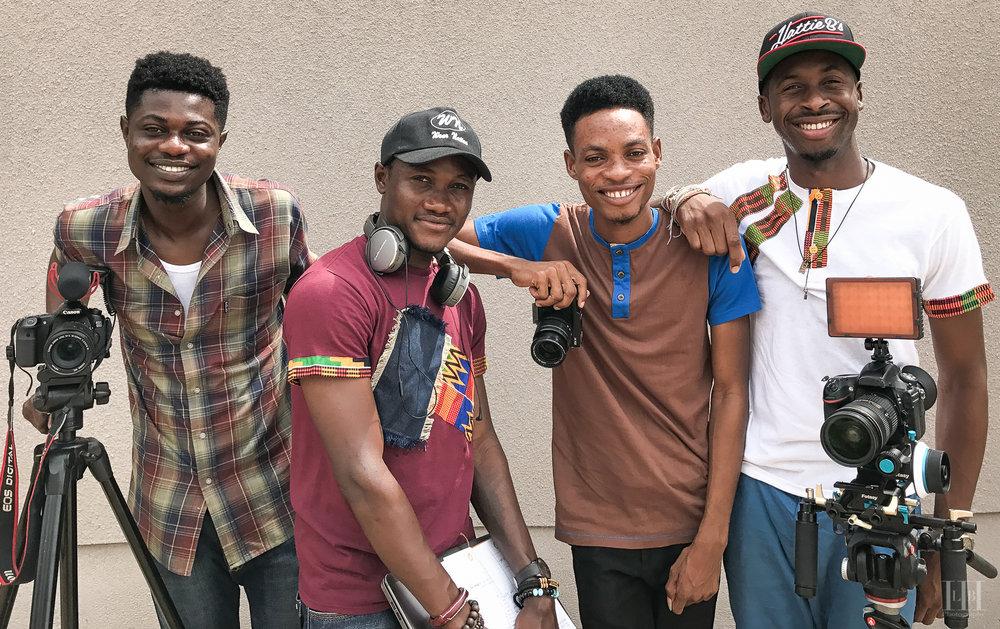 The Ghanaian + 1 crew - Bolgatanga, Ghana