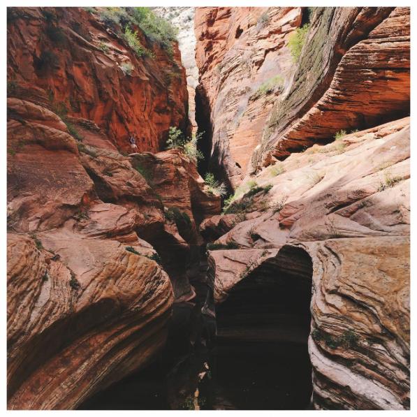 Slot canyon.