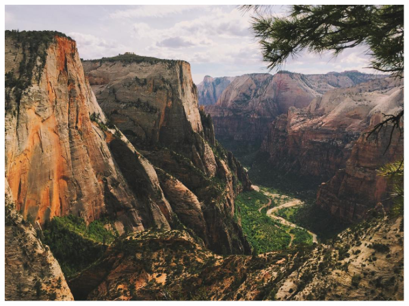Zion Canyon & The Virgin River