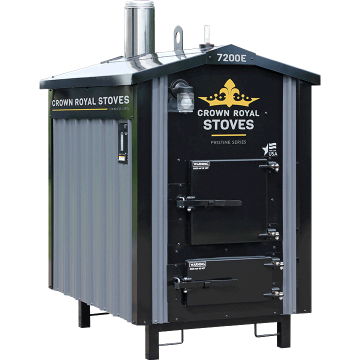 Crown Royal EPA Boilers - Full Stainless Steel Gasification Boilers