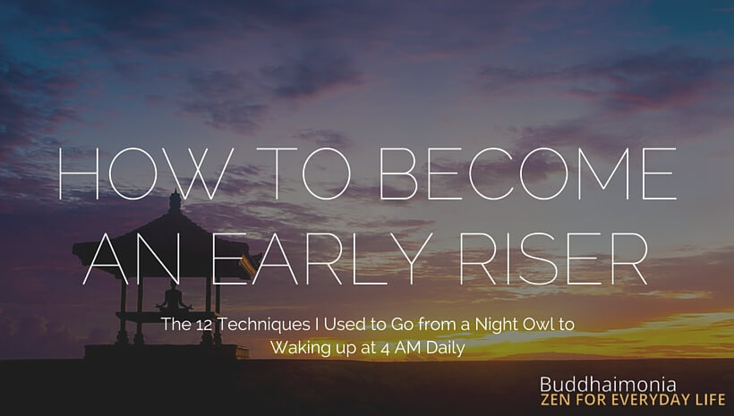 HOW TO BECOME AN EARLY RISER (1)