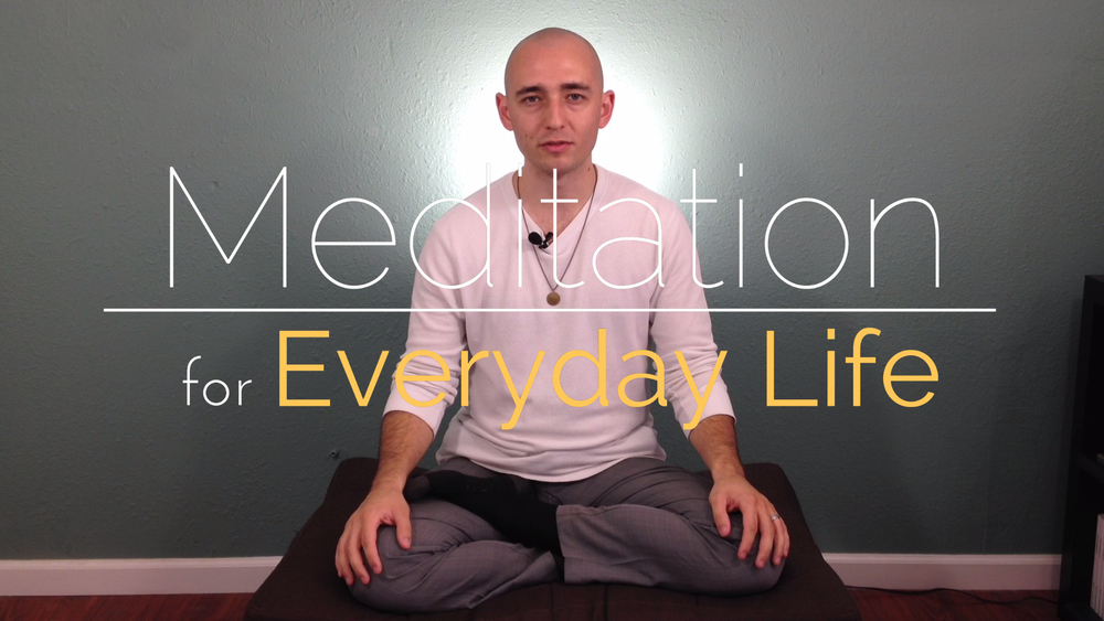 From my online course, Meditation for Everyday Life.
