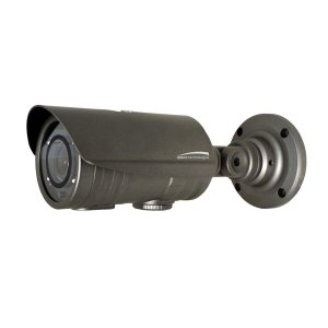O2FB3M   Flexible Intensifier® Technology 1080p Indoor/Outdoor IP Bullet Camera, 2.8-12mm lens, Dark Grey Housing