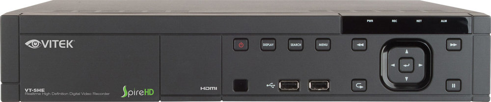 VT-SHE904   Spire HD Series Real Time Tribrid 4 channel HD TVI/AHD/960 H  Digital Video Recorder