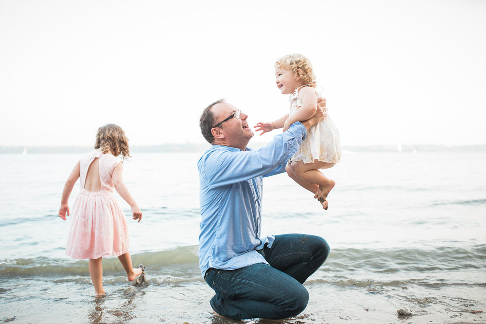 Beach Family Photographer Toronto Natural