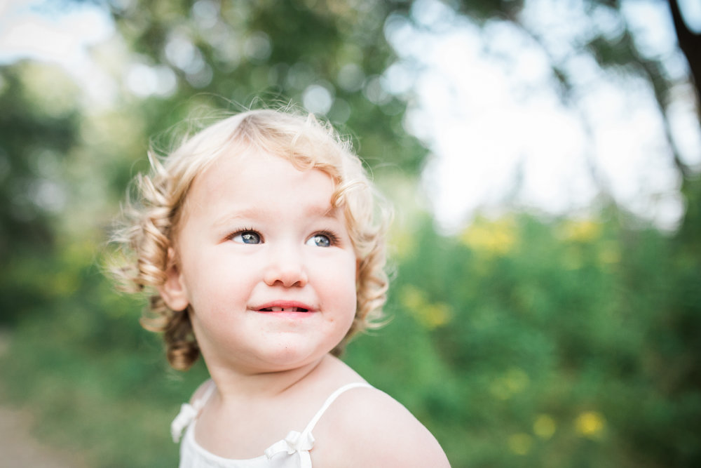 Smiling Child Bright and Airy Light Photography Candid