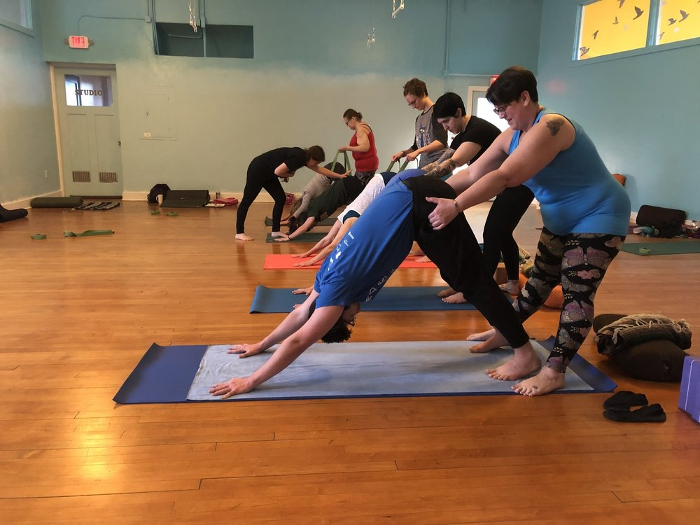 In the Kai Mentorship Program you will learn the Art of Adjusting yoga postures.